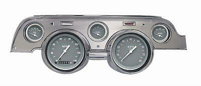 1967-1968 Ford Mustang Direct Fit Gauge SG Series MU67SGBA