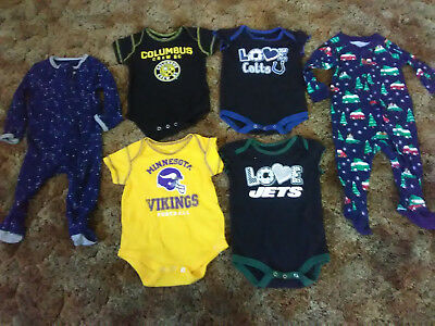 Infant Boys' Mixed Clothing Lot - Size 3-6 Months