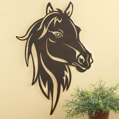 Old Fashioned Metal Horse Wall Decor Mold - Wall Art Collections ...