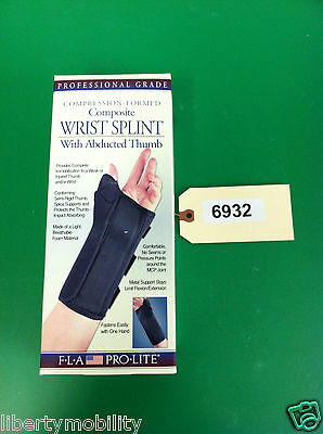 FLA Compression Formed Composite Wrist Splint With Abducted Thumb XL LEFT #6932