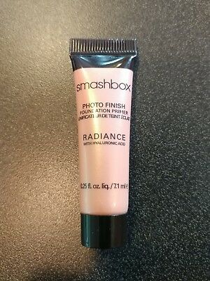Smashbox Photo Finish Radiance Foundation Primer Travel Size .25oz. New