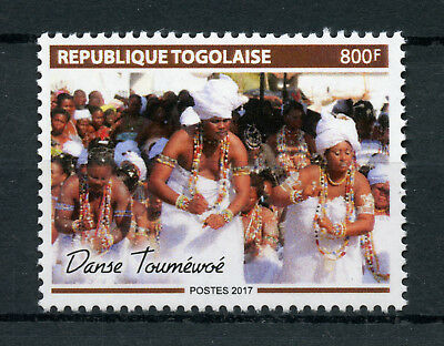 Togo 2018 MNH Toumewoe Dance 1v Set Cultures Traditions Stamps