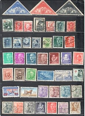 MG533 SPAIN Stamps Used UNIQUE Collection