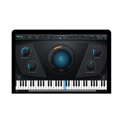 Antares Auto-Tune PRO Pitch Correction Automatic Graphica PlugIn Mac PC Download