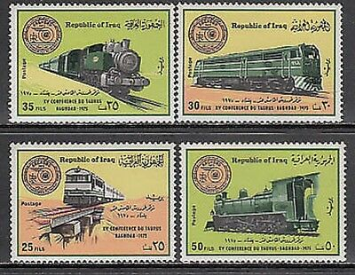 Iraq - Mail Yvert 764/7 Mnh Trains