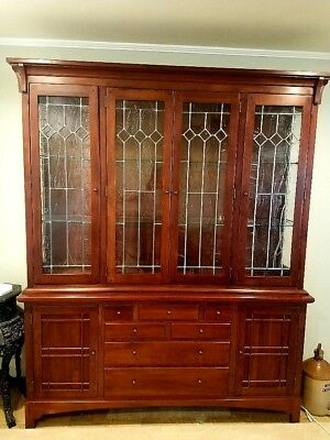 Bob Timberlake Lexington Solid Cherry China Cabinet Made In USA