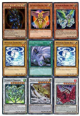 Yugioh Tournament Ready Agent Deck- BLS, Mystical Shine Ball, Twin Twisters