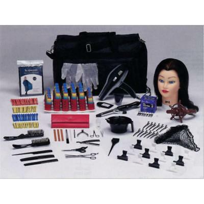 Basic Cosmetology Beauty School Student Kit w/ Tote Bag