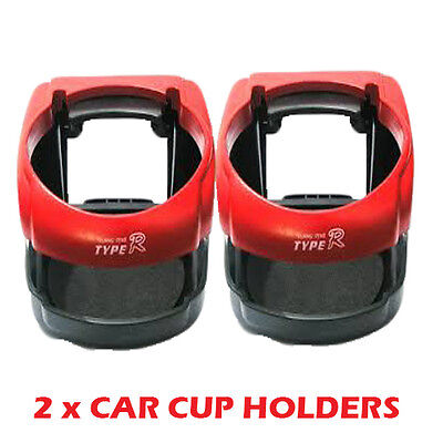 Double Car Drinks Holder Bottle Cup Water Air Vent Phone Mount Universal AC22