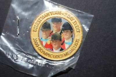 Olympic Games Collectable -Official Gold Medallist Collection -Equestrian -3 day
