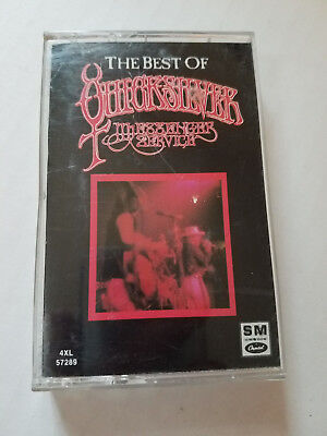 ♫ The Best of Quicksilver Messenger Service cassette, Free Shipping!