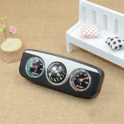 Guide Ball Auto Boat Vehicles Navigation Compass Thermometer Hygrometer *1