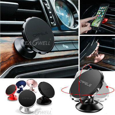 Universal 360° Magnetic Car Mount Holder Stand Dashboard For Mobile Cell Phones