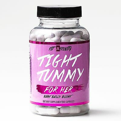 FIT AFFINITY Tight Tummy for Her - Reduce Bloating Pills - 90 Capsules