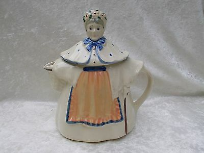 Vintage USA Pottery Granny/Old Woman/Lady/Teapot