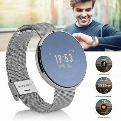 Waterproof Smart Watch Touch Screen Phone Mate For IOS/Android iPhone Samsung