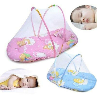Infant Mosquito Net Foldable Creative Portable 2 Colors Cradle Summer Bed