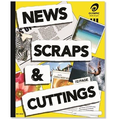 Olympic News & Cutting Scrap Book 400mm x 325mm (72 Page)