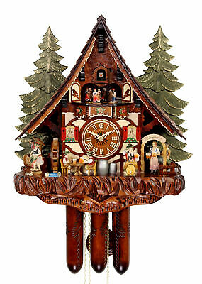 Adolf Herr Cuckoo Clock - Willy The Brewmeister AH 985-1 8TMT NEW