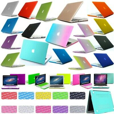 """Rubberized Hard Case Matte Cover For Apple MacBook AIR 11""""/ White/ PRO 13"""" A1342"""