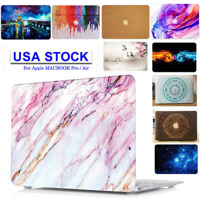Hard Case Keyboard Cover LCDfilm Dust plugs for Apple macbook Air 13 A1466 A1369