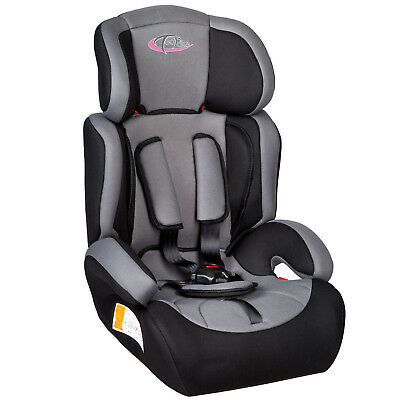 Convertible Baby Child Car Seat & Booster Group 1 2 3 9-36 kg black