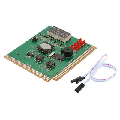 LED 4-Digit Card Analyzer Diagnostic Motherboard for PC Laptop Notebook AC1196