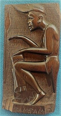 African wood carving from Tanzania