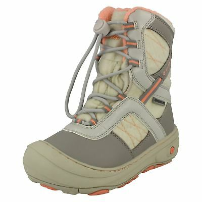 Girls Hi-Tec Casual Speed Lace Snow Boots 'Slalom 200'