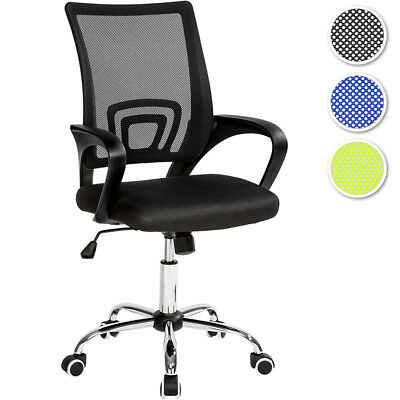 Office computer chair with lumbar support executive seat adjustable mesh