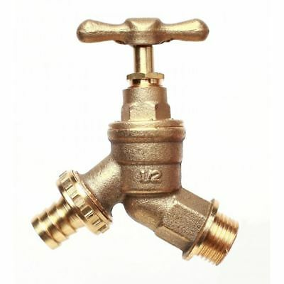 Universal Brass Outside Garden Tap / Hose Union Bib Tap 1/2""