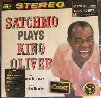 Armstrong - Satchmo Plays...+45rpm 180g ++Analogue Productions +NEU++OVP