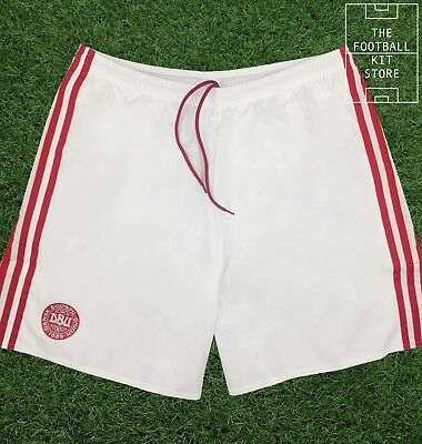 Denmark Home Shorts - Official adidas DBU adizero Football Shorts - Mens - XL