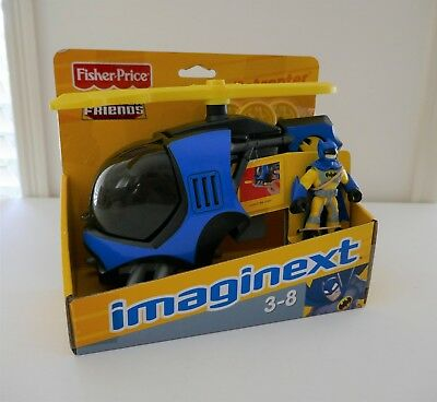 Fisher Price Imaginext Batcopter Brand New in Box