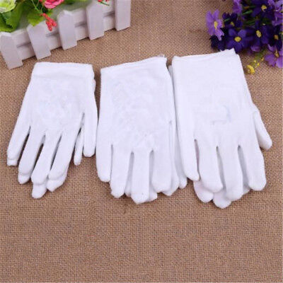Kids Express Etiquette Polyester Performance Child Costume Gloves White lot