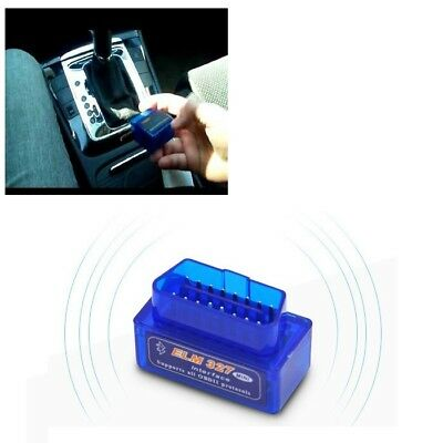 Mini OBD2 ELM327 V2.1 Bluetooth Car Scanner Android Torque Auto Scan Durable New