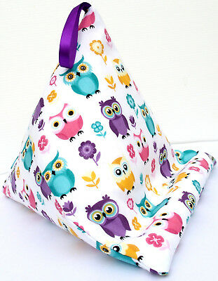 OWLS c Resting pillow cushion holder bean bag for iPad Kindle Tablet Book