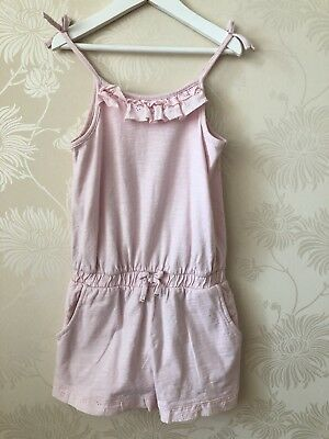 NEXT Girls Shorts Playsuit Age 6 Years, Height 116cm