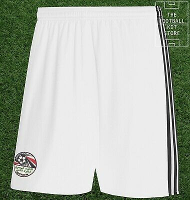 Egypt Home Shorts - Official adidas Football Shorts - Mens - All Sizes