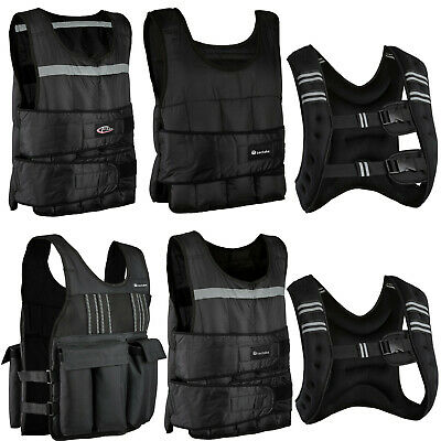 Weight Vest Jacket Running Training Fitness Sport Weight Loss Gym Strength