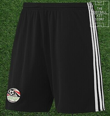 Egypt Away Shorts - Official adidas Football Shorts - Mens - All Sizes