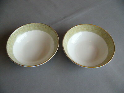 """2 x First Quality Royal Doulton Sonnet 5.25"""" Fruit Bowls/Dishes - Superb"""