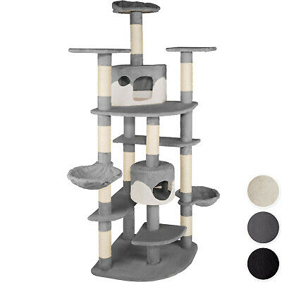 Cat Tree Scratcher Scratching Toy Activity Centre Sisal Climbing Tower