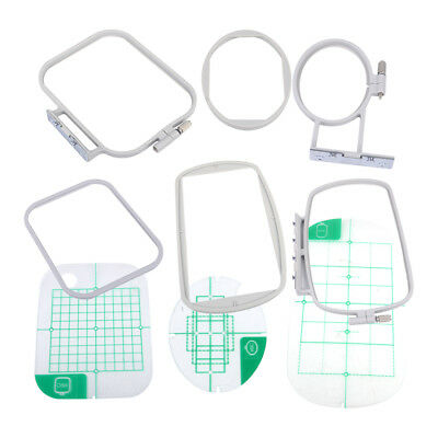 3Pc Embroidery Hoops Set Kit Fit for Brother SE350 SE400 Machine Sewing Tools ds