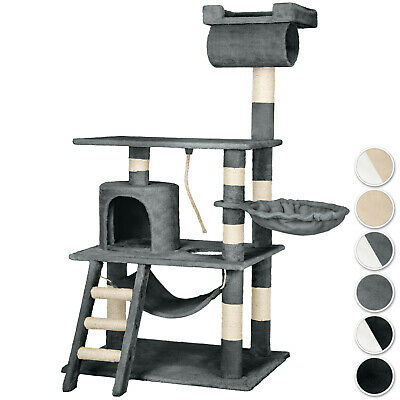 Cat tree scratching post activity centre scratcher climbing house 141cm