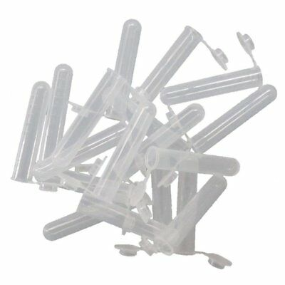 50pcs 10mL Plastic EP Tube Sample Storage Container Liquid Centrifuge Tube