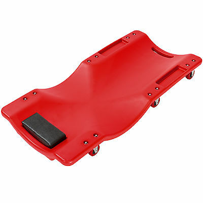 Car Creeper Dolly Rolling Board Vehicle Van Garage Workshop new red