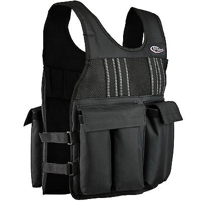 Weight Vest Running Training Fitness Sport Reflector Removable weights 10kg