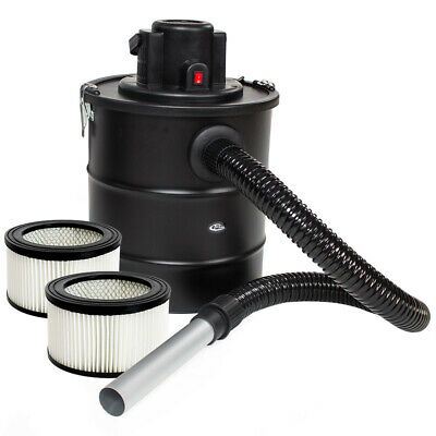 Fireplace Ash 1200W Cylinder 20 L Hoover VACUUM CLEANER Coal Chimney +2 Filters