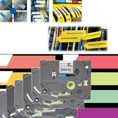 8m Label Tape Tze-231 431 531 631 Width12mm For Brother P-touch Printer Ribbon